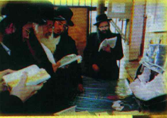 The Rebbe in Uman